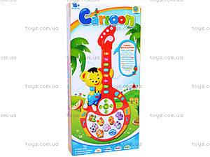 Гитара с медвежонком, CY-6063B, купить