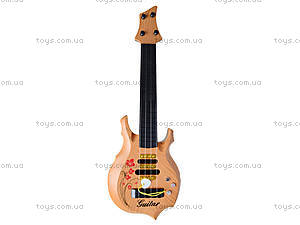 Гитара струнная игрушечная, B-80C, фото