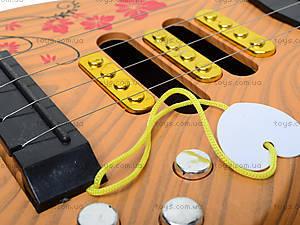 Гитара струнная игрушечная, B-80C, отзывы