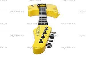 Гитара струнная в чехле, 5599, фото