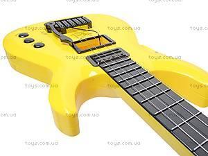 Гитара струнная в чехле, 5599, игрушки