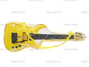 Гитара струнная в чехле, 5599