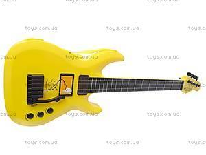Гитара струнная в чехле, 5599, детские игрушки