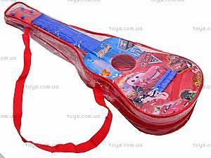Гитара «Тачки» в чехле, Q650-3A, купить
