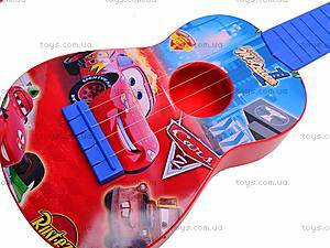 Гитара «Тачки» в чехле, Q650-3A, фото