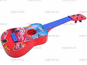 Гитара «Тачки» в чехле, Q650-3A, цена