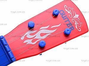 Гитара «Тачки» в чехле, Q650-3A, игрушки