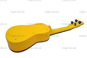 Гитара «Винни Пух» в чехле, Q650-2A, фото