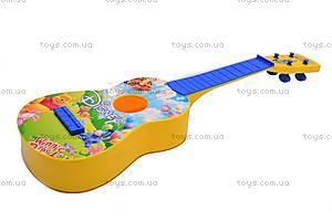 Гитара «Винни Пух» в чехле, Q650-2A, цена