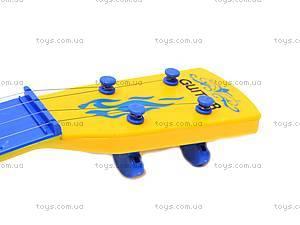 Гитара «Винни Пух» в чехле, Q650-2A, игрушки