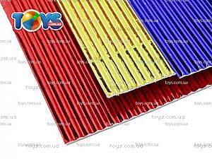 Гофрокартон цветной неоновый, 5 цветов, HW14-257K, фото