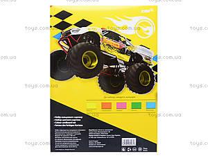 Гофрокартон цветной неоновый, 5 цветов, HW14-257K, игрушки