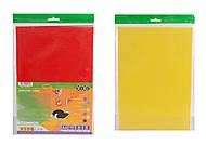 Гофрокартон глянцевый А4, 8 цветов, ZB.1971, интернет магазин22 игрушки Украина