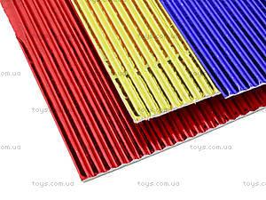 Гофрокартон неоновый цветной А4, P13-257К, купить