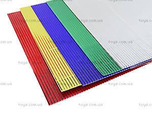 Гофрокартон неоновый цветной А4, P13-257К, цена