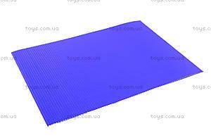Гофрокартон неоновый цветной А4, P13-257К, детские игрушки