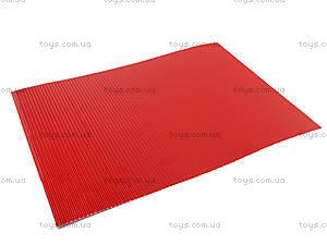 Гофрокартон неоновый цветной А4, P13-257К, toys.com.ua