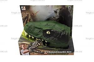 Детская игрушка «Голова динозавра», JZD-35