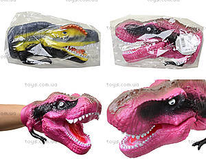 Игрушка-перчатка «Голова динозавра», KL06-13