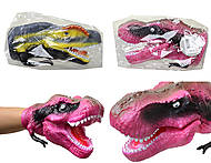 Игрушка-перчатка «Голова динозавра», KL06-13, фото