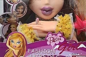 Голова куклы «Bratz», 93035, игрушки