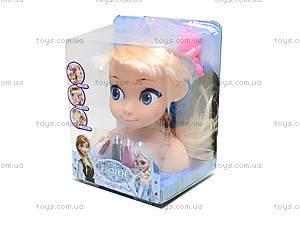 Голова куклы для причесок «Фроузен», ZT8812ZT8822ZT8828, фото