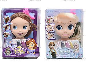 Голова куклы для причесок «Фроузен», ZT8812ZT8822ZT8828