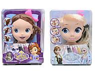 Голова куклы для причесок «Фроузен», ZT8812ZT8822ZT8828, купить