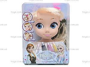 Голова куклы для причесок «Фроузен», ZT8812ZT8822ZT8828, игрушки