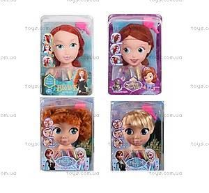Голова куклы для причесок «Фроузен», ZT8812ZT8822ZT8828, детские игрушки