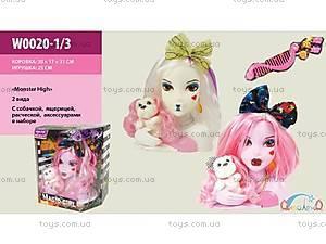 Голова куклы для причесок Monster High, 2 вида,