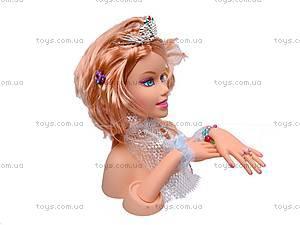 Голова куклы Jinni, для причесок, 83127, цена