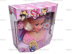 Голова куклы, с аксессуарами, P8819, цена