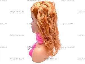 Голова куклы, с набором косметики, 83024, отзывы