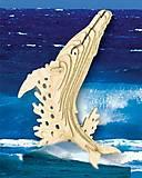 Конструктор деревянный «Горбатый кит», Ш001, фото
