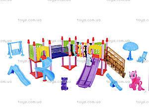 Игрушечная детская площадка «Мой маленький пони», SM1003ABC, фото