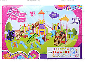 Игровая площадка с горками для мультгероев, SM1004, фото