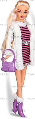 Кукла в полосатом платье «Городской стиль», 35067, фото
