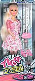 Игрушечная кукла «Блондинка в розовом платье», 35070, отзывы