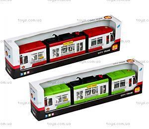 Детская игрушка «Городской трамвай», 1258