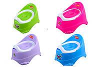 """Горшок детский """"BIMBO"""" нескользящие ножки, в ассортименте, BM-0611-11103, детские игрушки"""