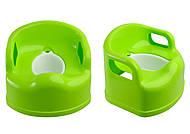 Горшок детский, салатовый, ПХ4522 САЛ, детские игрушки