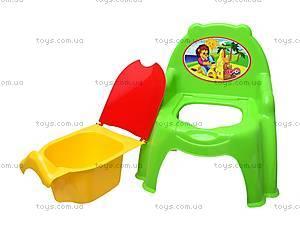 Горшок-кресло с крышкой, 32442209