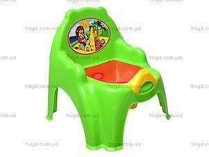 Горшок-кресло с крышкой, 32442209, купить