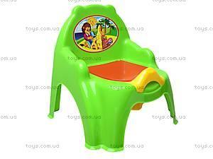 Горшок-кресло с крышкой, 32442209, цена
