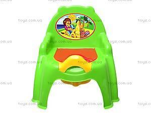 Горшок-кресло с крышкой, 32442209, игрушки