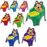Горшок-стульчик детский, 013317, toys.com.ua