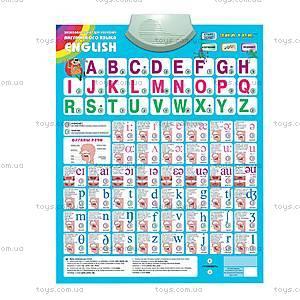 Говорящая азбука на английском языке, REW-K006