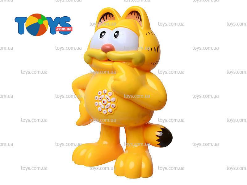 Гарфилд это кот или игрушка