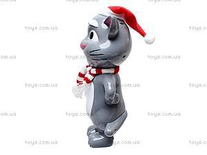 Говорящая игрушка-повторюха «Кот Том», 7412B, купить